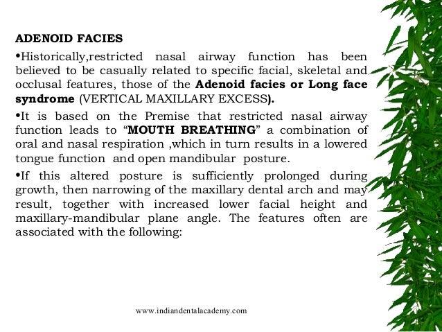 Naso respiratory function /certified fixed orthodontic ...