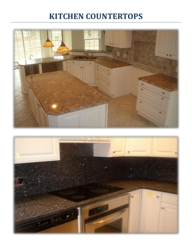 3. KITCHEN COUNTERTOPS ...
