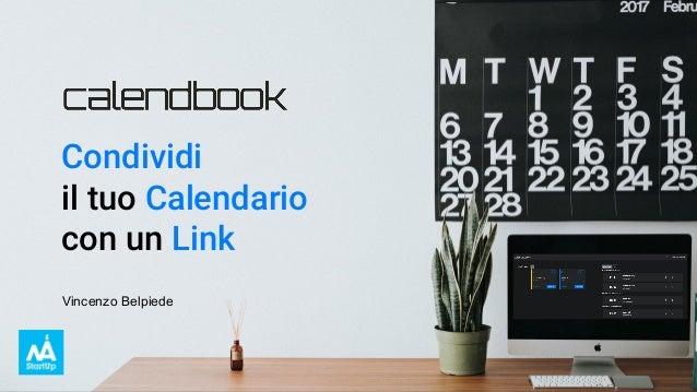 Condividi il tuo Calendario con un Link Vincenzo Belpiede
