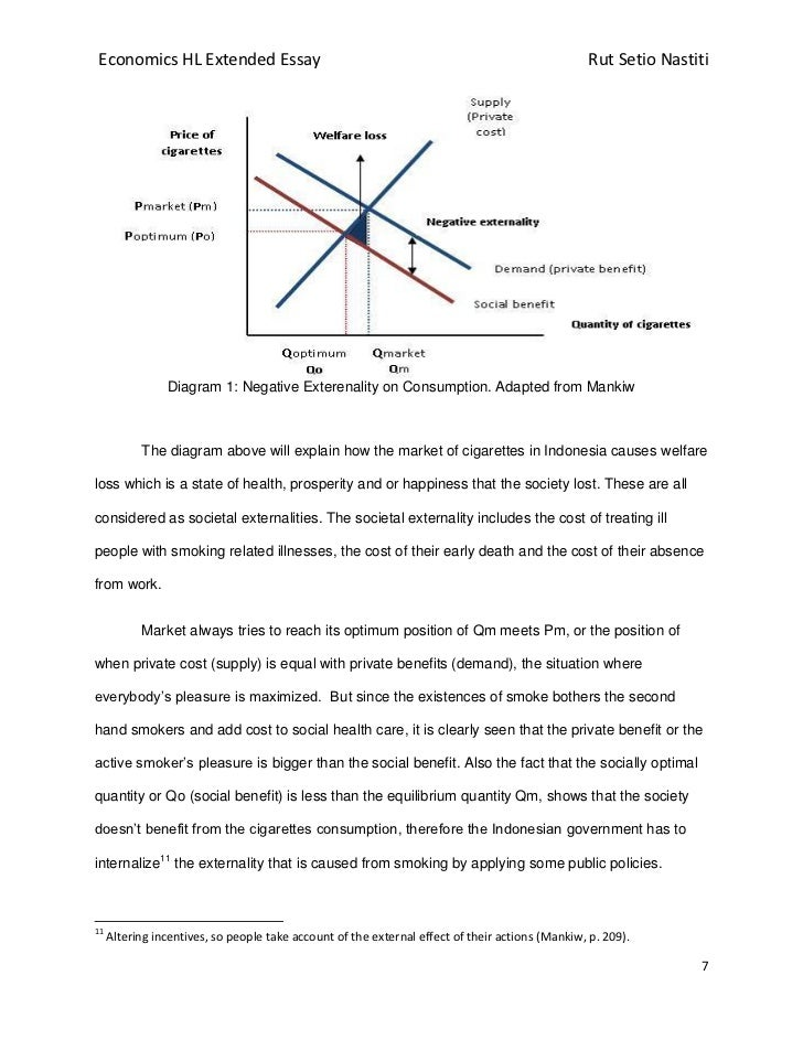 Argumentative Essay On Gun Control   Economics Hl Extended Essay  Psychology Essay Format also A Rainy Day Essay To What Extent Has The Indonesian Governments Policy On Tobacco Cons How To Start A Autobiographical Essay