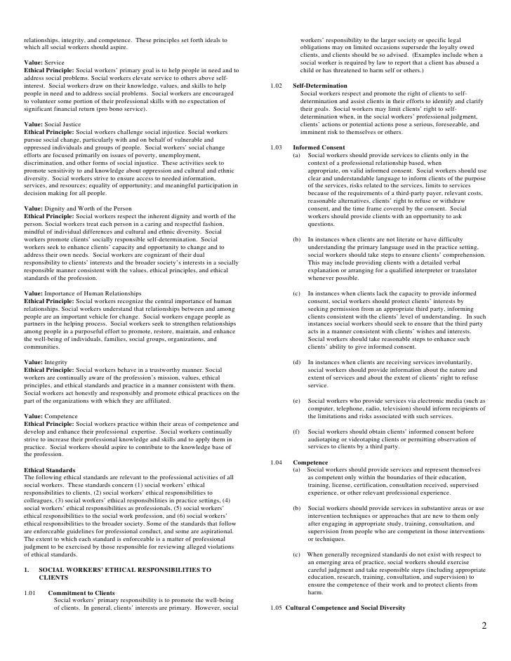 graphic regarding Nasw Code of Ethics Printable named Nasw Code Of Ethics