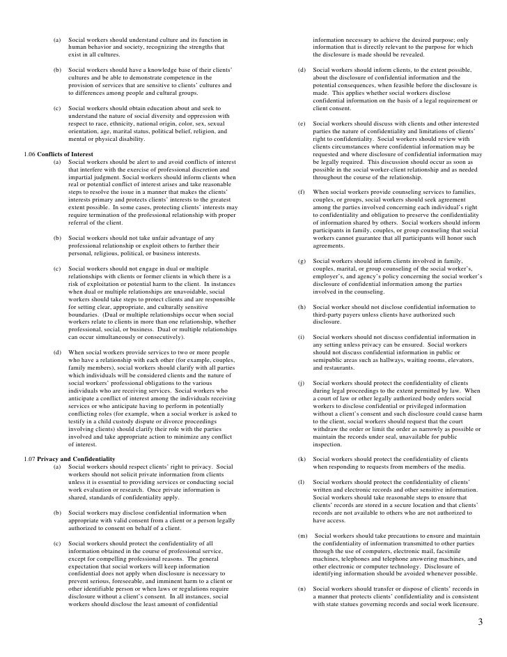 photo about Nasw Code of Ethics Printable named Nasw Code Of Ethics