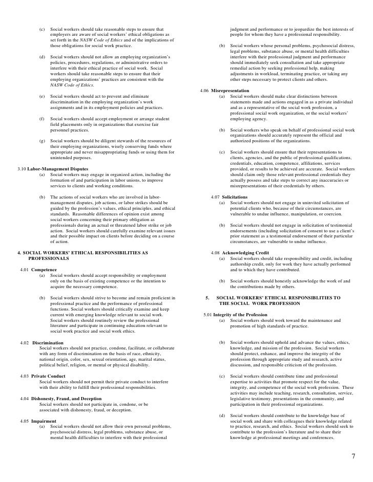 picture about Nasw Code of Ethics Printable called Nasw Code Of Ethics