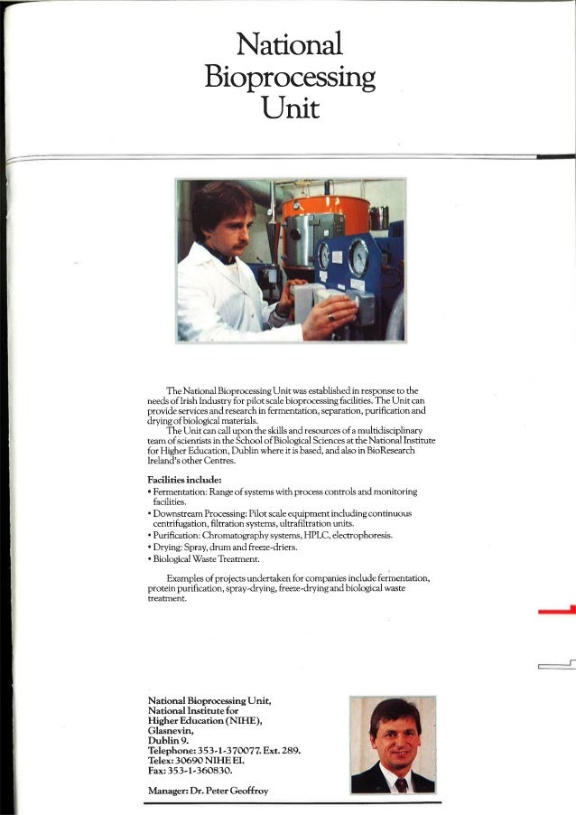 Nat.bioprocessing unit