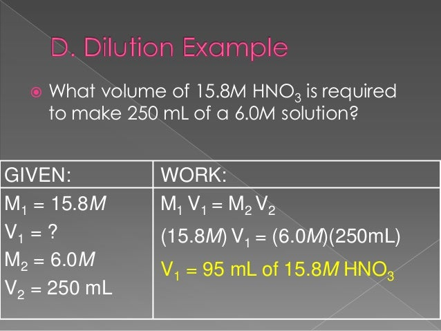 how to prepare 0.1n hno3 solution