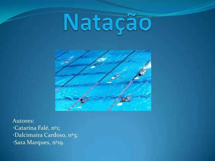 Autores: •Catarina Falé, nº1; •Dalcimaira Cardoso, nº3; •Sara Marques, nº19.