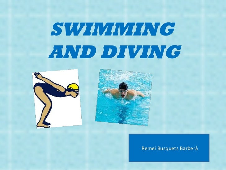 SWIMMING  AND DIVING Remei Busquets Barberà