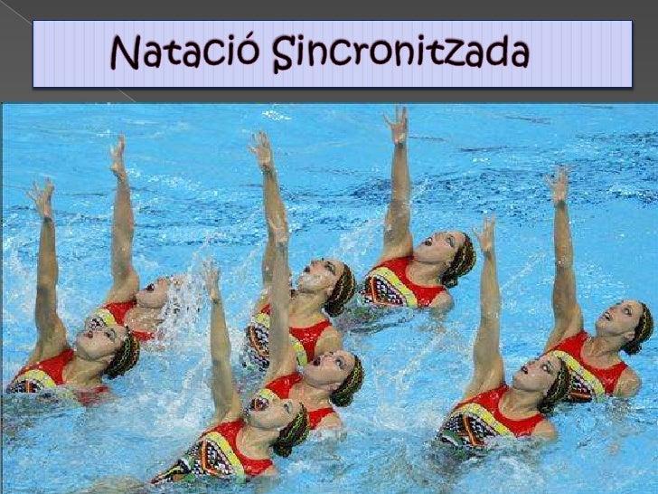 Natació Sincronitzada<br />