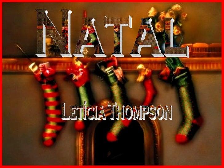 Natal Letícia Thompson