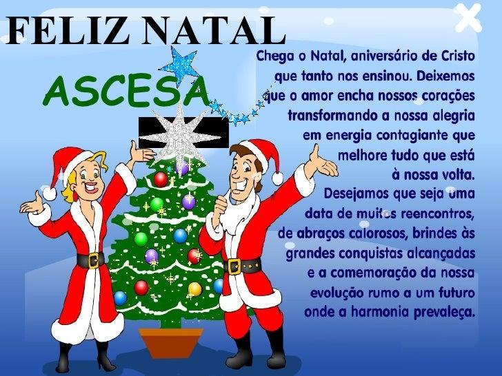 FELIZ NATAL ASCESA