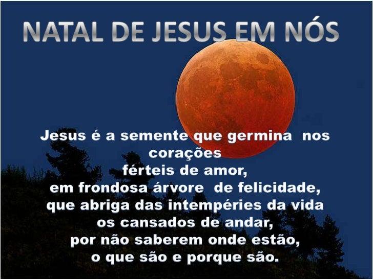 Natal de Jesus em nos