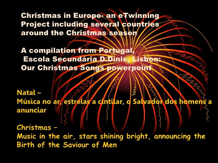 Christmas in Europe- an eTwinning  Project including several countries  around the Christmas season   A compilation from P...