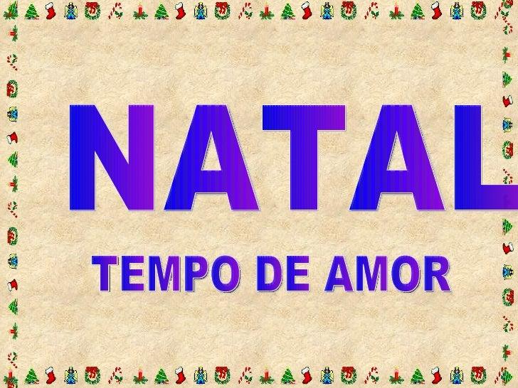 Natal Tempo De Amor