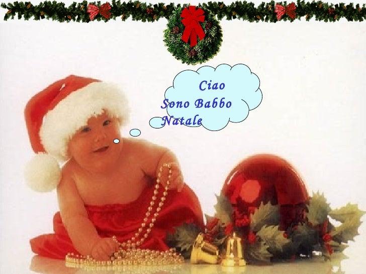 Ciao Sono Babbo Natale