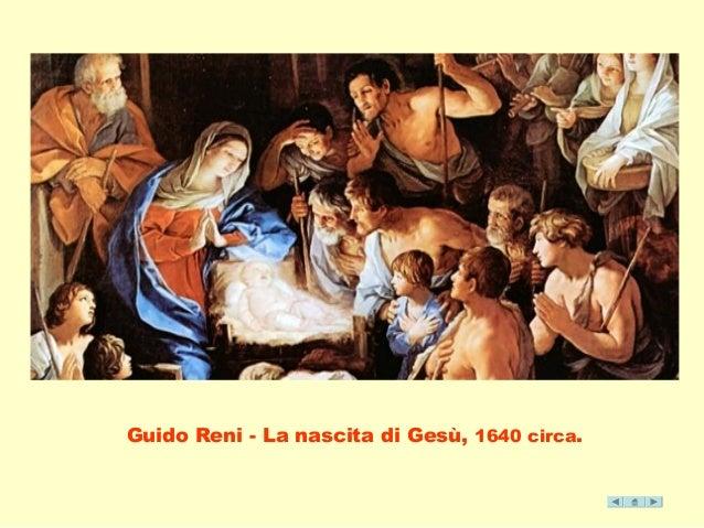 Guido Reni - La nascita di Gesù, 1640 circa.
