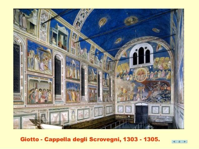 Giotto - Cappella degli Scrovegni, 1303 - 1305.