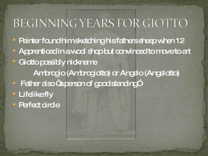 Giotto di Bondone Slide 2