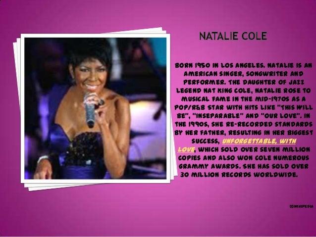 Natalie Cole Slide 3