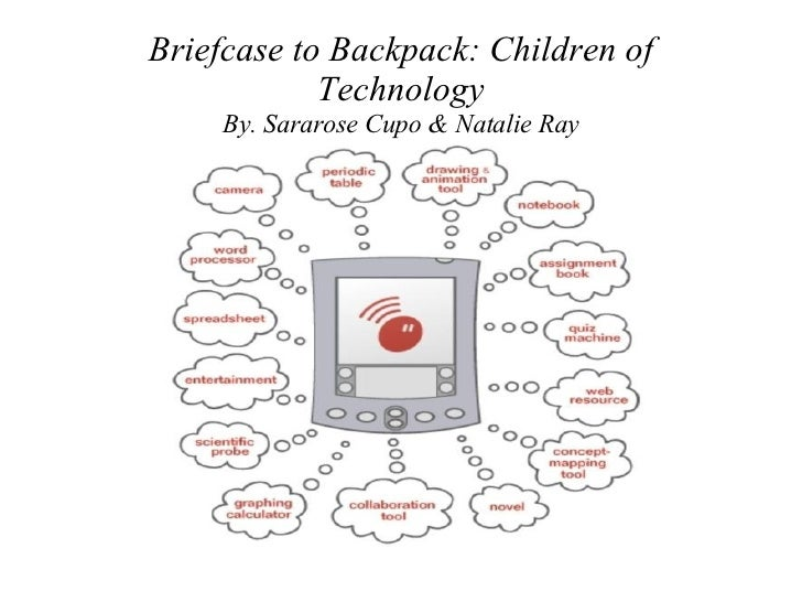 Briefcase to Backpack: Children of Technology By. Sararose Cupo & Natalie Ray