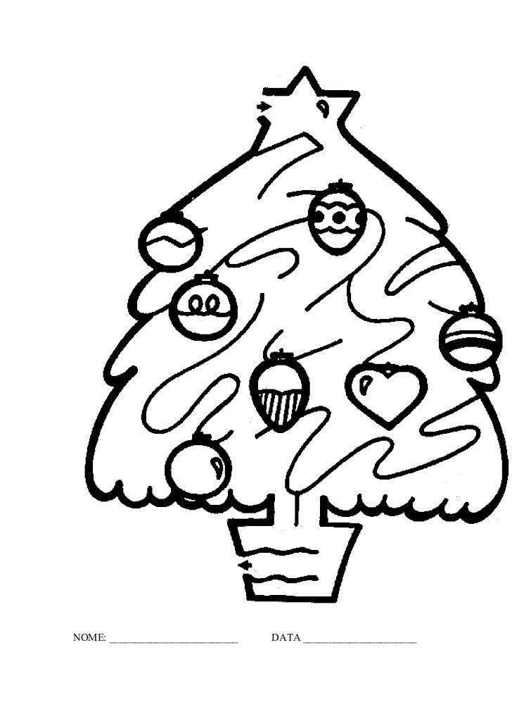 Natal mat labirinto