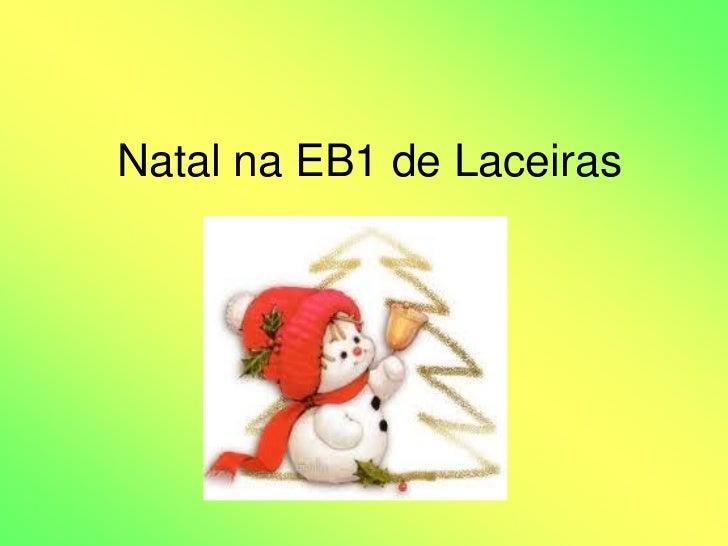 Natal na EB1 de Laceiras