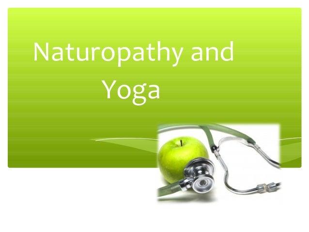 Naturopathy and Yoga