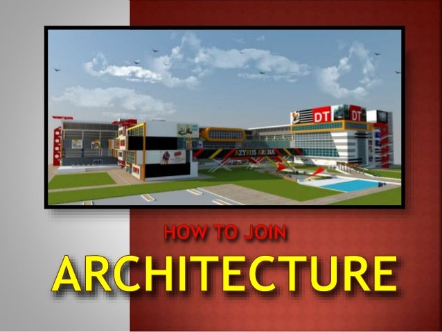A large number of students are under the impression that since they have given the architecture entrance exam (JEE) conduc...
