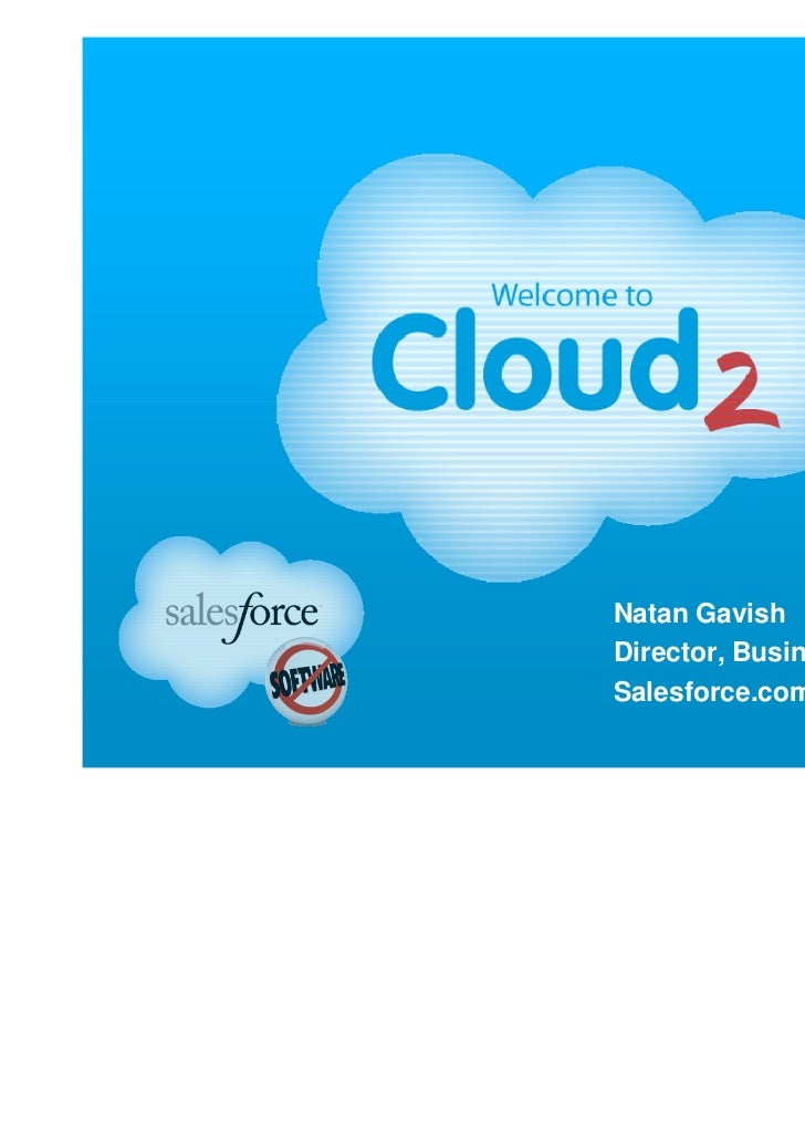 Natan GavishDirector, Business DevelopmentSalesforce.com