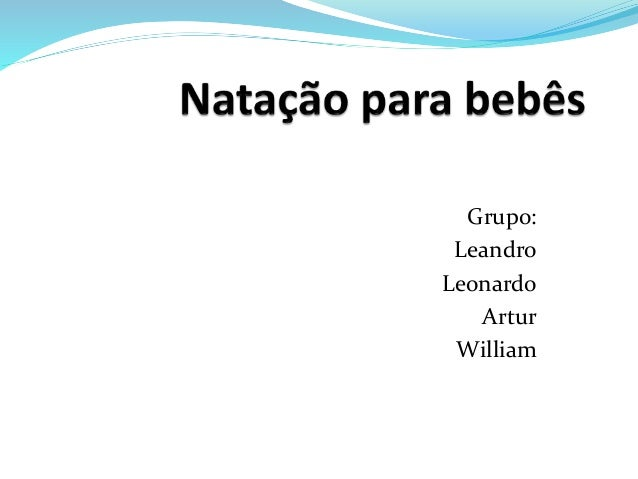 Grupo: Leandro Leonardo Artur William