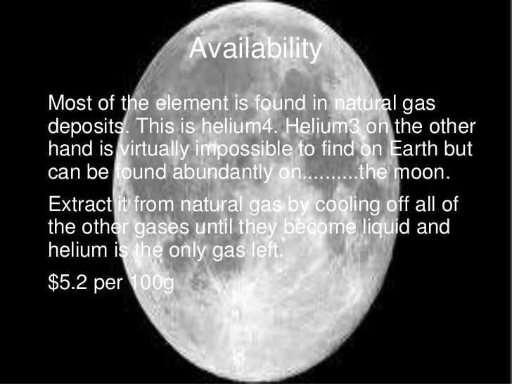 How To Extract Helium From Natural Gas
