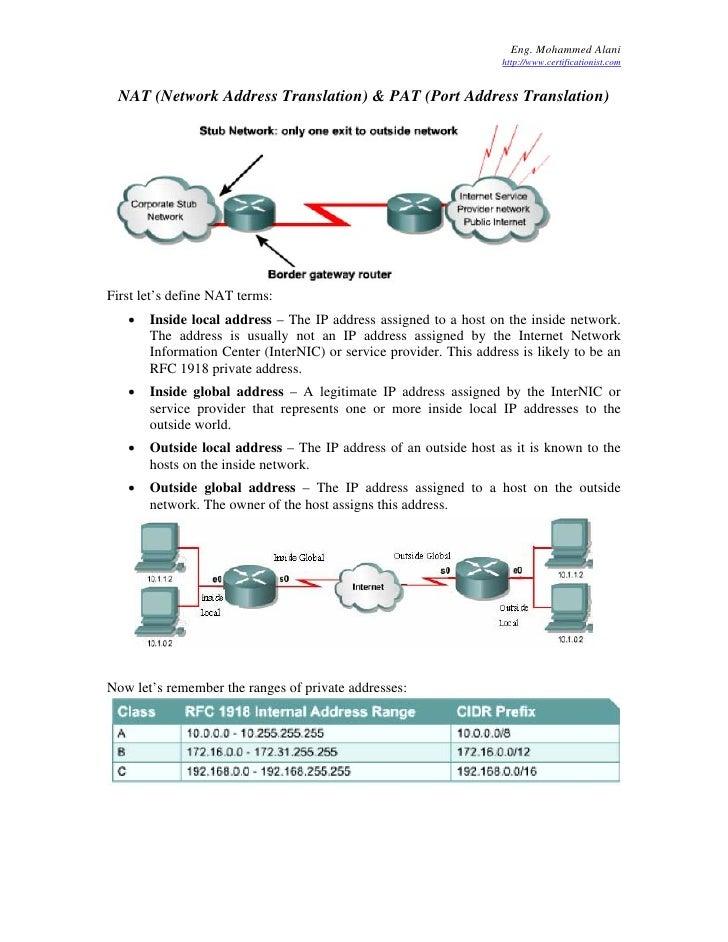 Eng. Mohammed Alani                                                                     http://www.certificationist.com   ...
