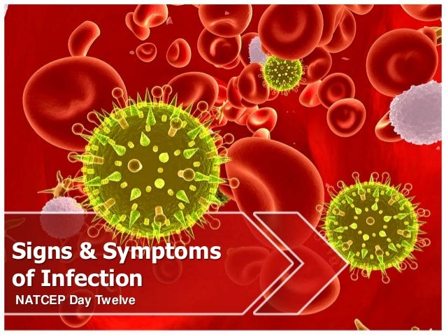 Signs & Symptoms of Infection NATCEP Day Twelve