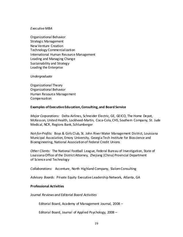 nate bennett -cv  academic resume