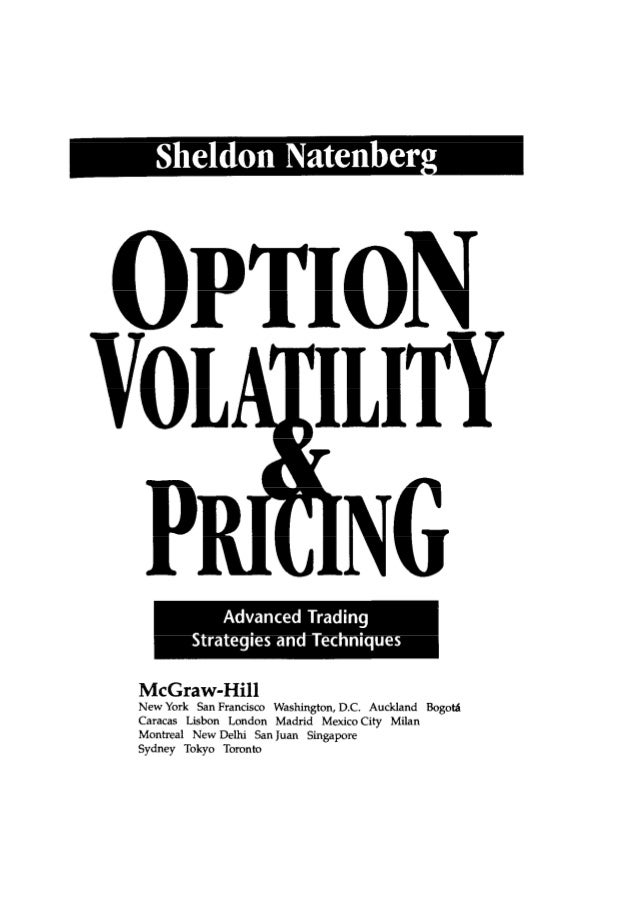 Advanced options trading volatility