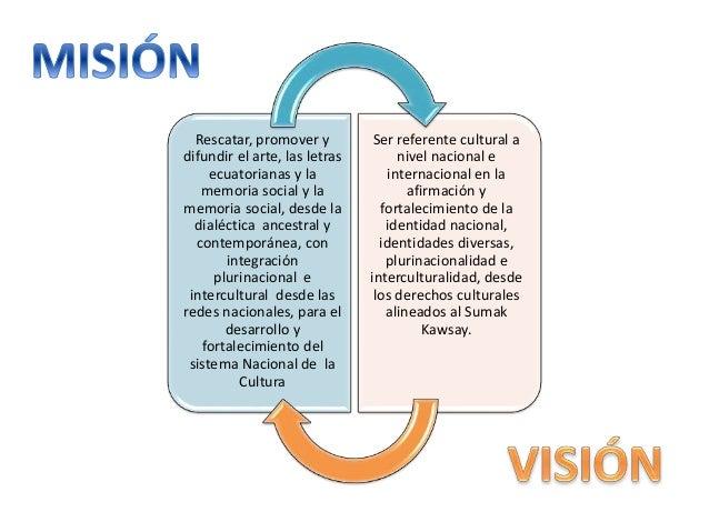 Rescatar, promover y difundir el arte, las letras ecuatorianas y la memoria social y la memoria social, desde la dialéctic...