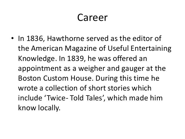 "fryer on hawthorne essay Seducing transcendental narrative perspectives in nathaniel hawthorne's ""rappaccini's daughter"" - ""the proper point of view"" - anonym - seminar paper - english language and literature studies - literature - publish your bachelor's or master's thesis, dissertation, term paper or essay."