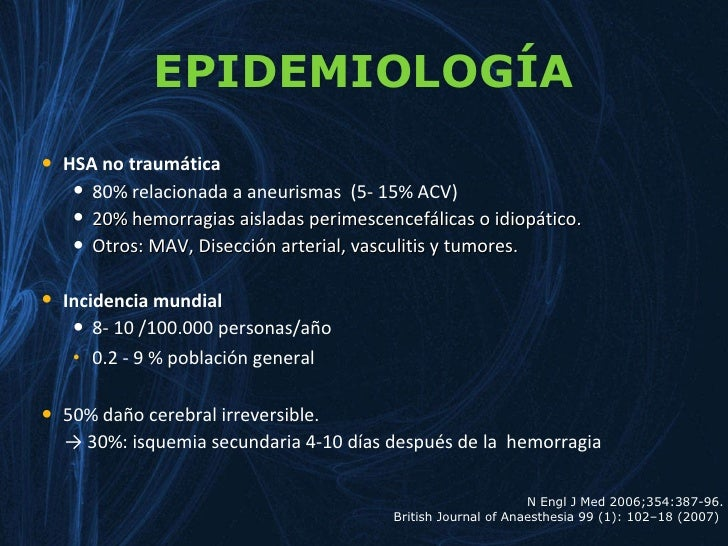 aneusrisma cerebral Slide 2