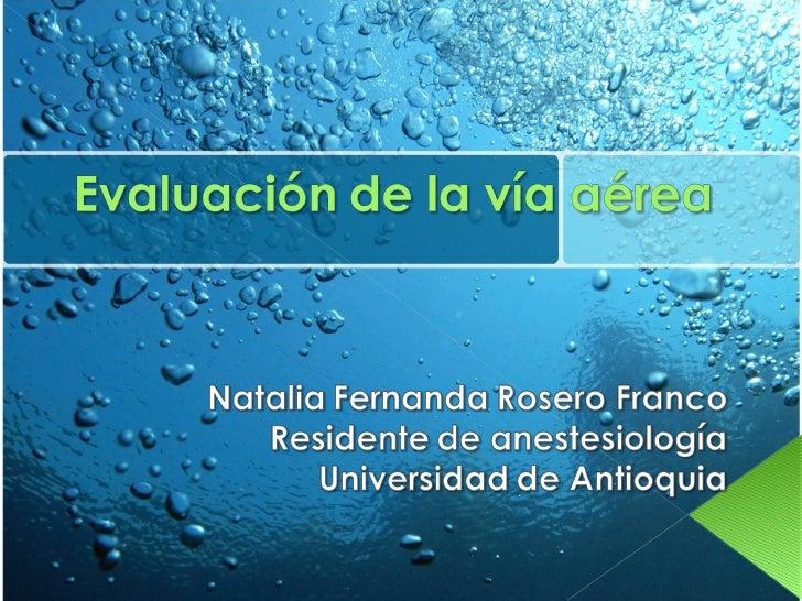 EvaluacióN De La VíA AéRea2   Copia Slide 1