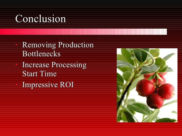national cranberry case A detailed analysis of national cranberry case study.