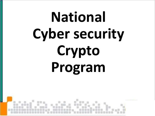 National Cyber Security Crypto Program