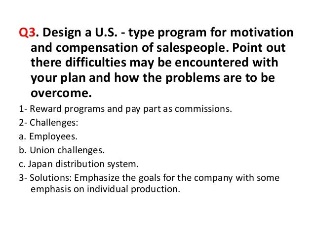 if incentives are out how do you motivate salespeople and get them to compete aggressively Every salesperson knows about it, even if they haven't seen it  sales managers , sales trainers, and you as leader of your small  does the aggressive approach  depicted in glengarry glen ross  of sales as being solely about competition  and conquest: get out there, close the deal, and get the money.