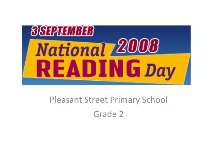 Pleasant Street Primary School Grade 2