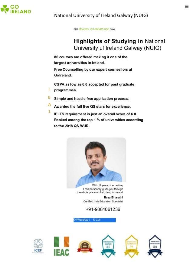 National University Of Ireland Galway Nuig