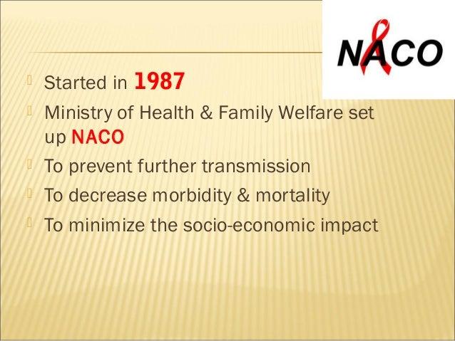 National  aids control programme Slide 2