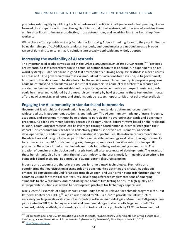 Dr Dev Kambhampati | USA Artificial Intelligence (AI) R&D Strategic Plan