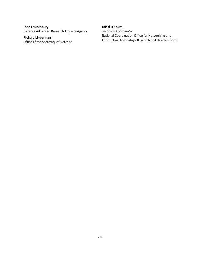 NATIONAL ARTIFICIAL INTELLIGENCE RESEARCH AND DEVELOPMENT STRATEGIC PLAN 1 Contents About the National Science and Technol...