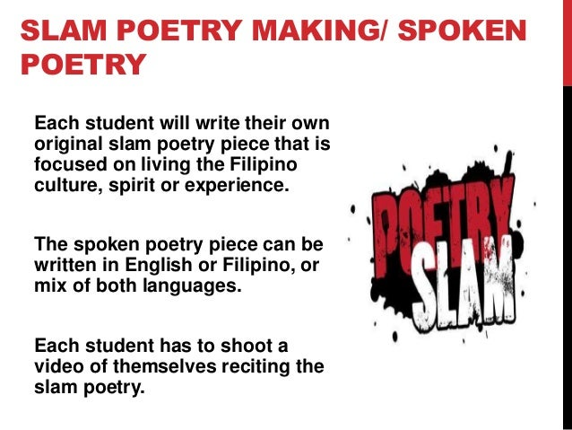 Famous Slam Poems 1