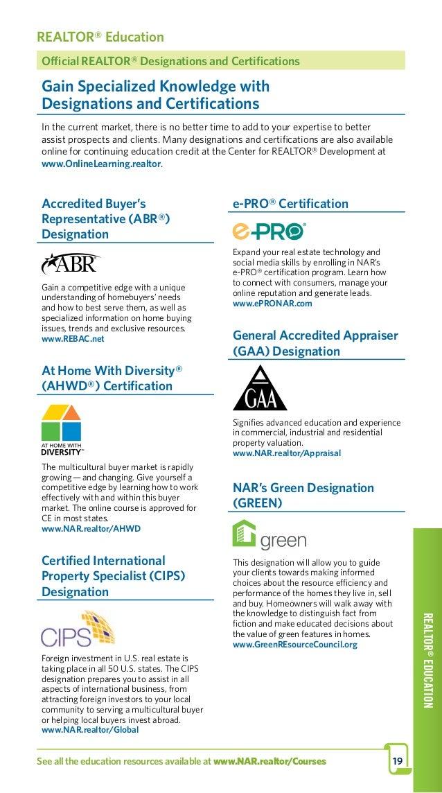 National Assoc Of Realtors Program 2017