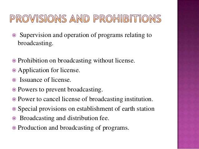 National Broadcasting Act - NEPAL Slide 3