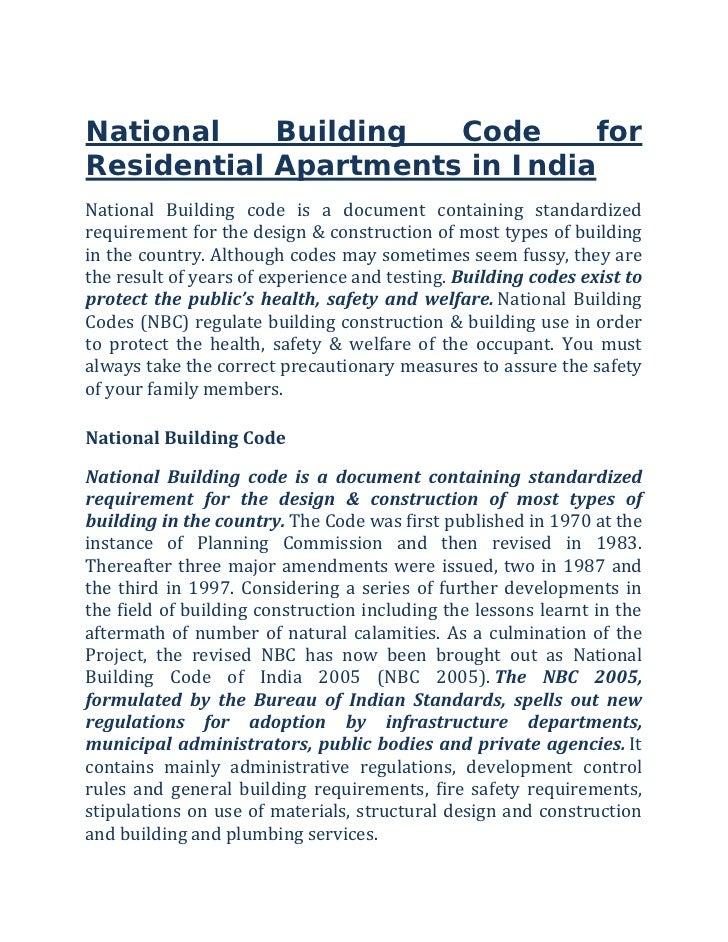 Nj Residential Building Code